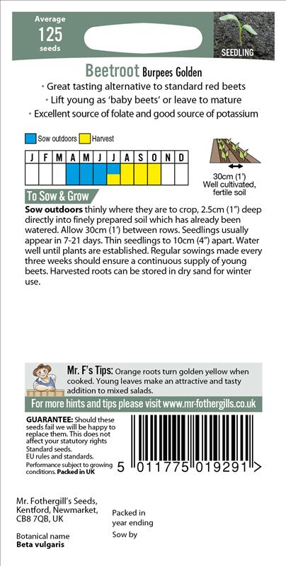 Beetroot Burpees Golden