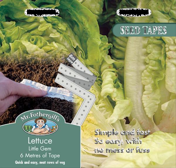 Tape Lettuce Little Gem