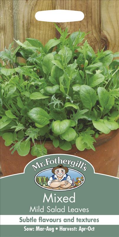 Mixed Mild Salad Leaves