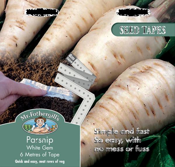 Tape Parsnip White Gem