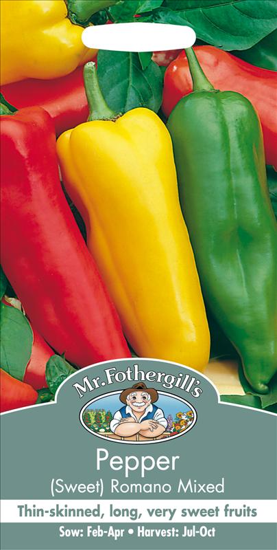 Pepper (Sweet) Romano Mixed