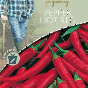 David Domoney Pepper Hot Red