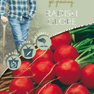 David Domoney Radish Globe
