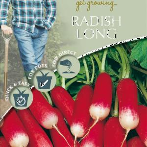 David Domoney Radish Long