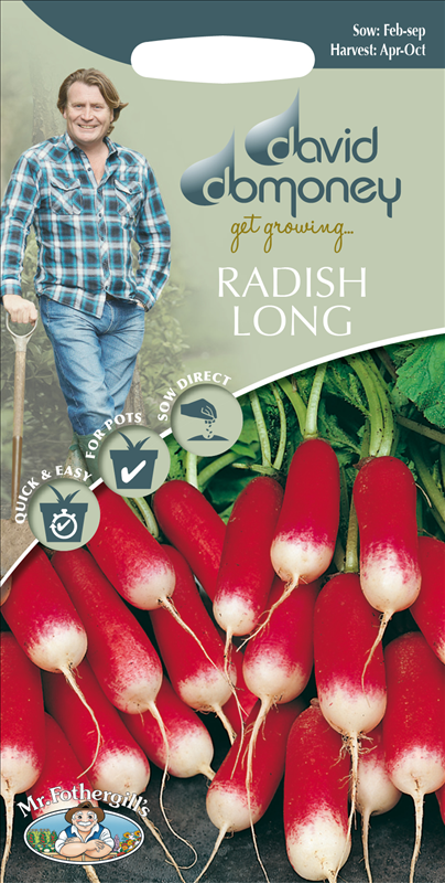 David Domoney Radish Long
