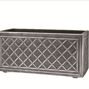 Lead Effect Trough 70x32x33cm Pewter