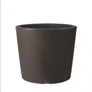 Verese Low Planter 40x35cm Granite