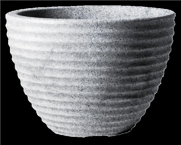 Low Honey Pot 50cm Alpine Grey