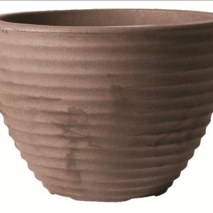 Low Honey Pot 37cm Dark Brown