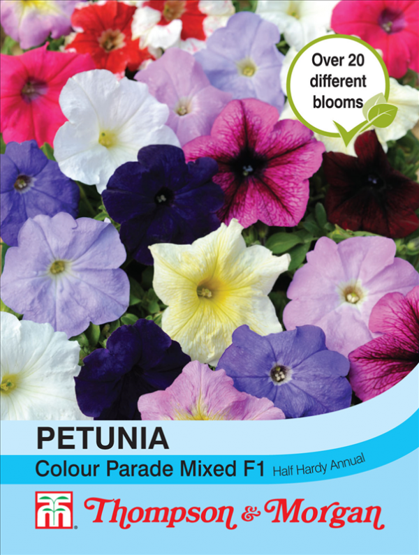Petunia Colour Parade Mixed F1