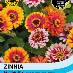 Zinnia Funfair Mix