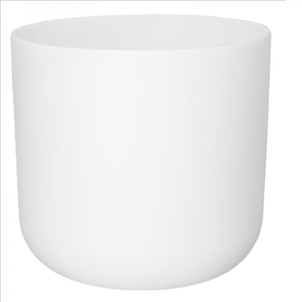 Lisbon Planter White 18.5cm