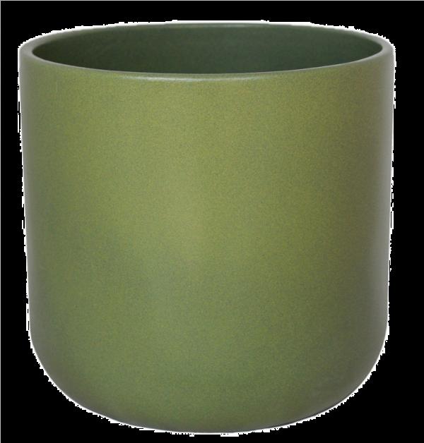 Lisbon Planter Olive 18.5cm