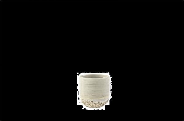 Vasto Planter Ivory 7cm