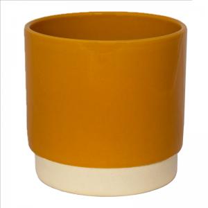 Enos Pot Mustard 13cm