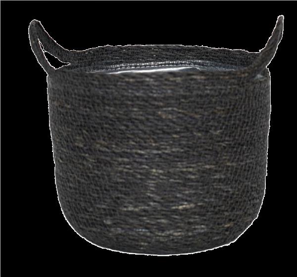 Otto Grey Woven Basket 20cm