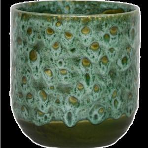 Emerald Glaze Planter 18cm