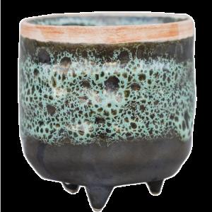 Emerald Glaze Planter 7cm