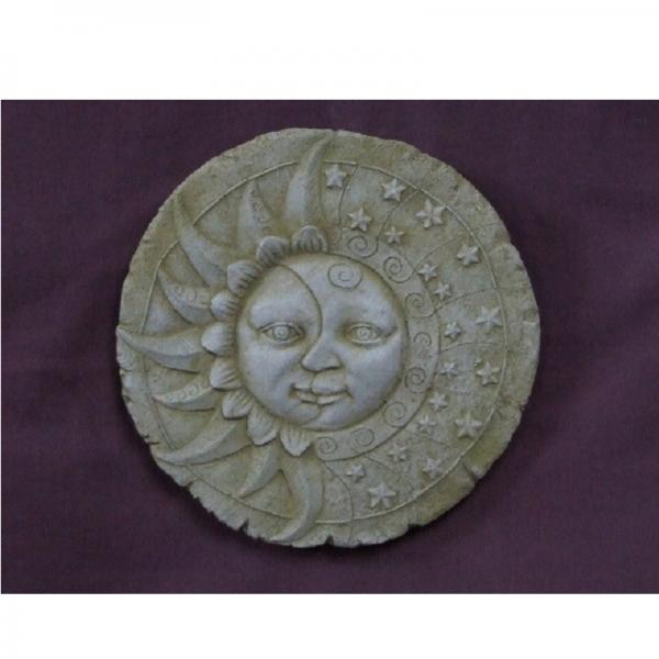 Sun & Moon Plaque Garden Ornament