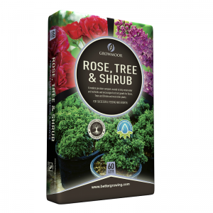 Rose, Tree & Shrub Compost 60L