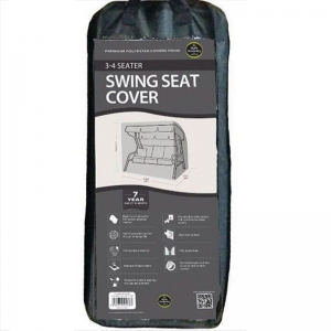 3-4 Seater Swing Seat Cover, Black