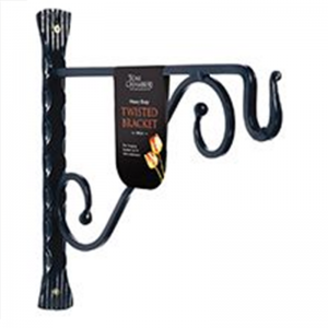 Twisted Bracket Black - 35cm