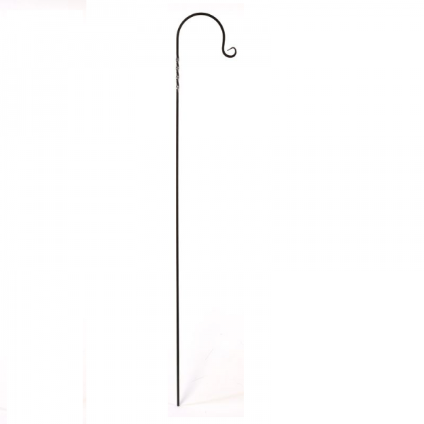 Small Twirled Hook Black