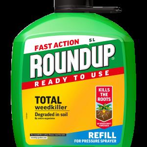 Roundup® Total Pump 'n Go Refill 5L
