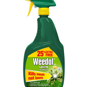 Weedol Gun Lawn Weedkiller 800ml +25%