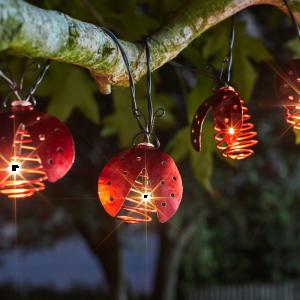 Ladybird Lights String- Set of 10