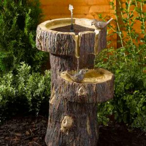 Tree Trunk Fountain