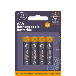 Recharge AAA Batteries (4 pack)