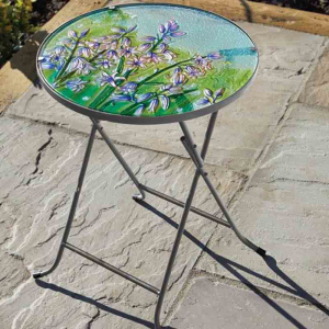Bluebell Glass Table