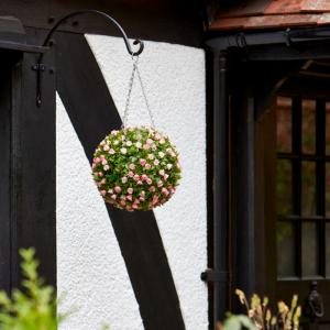 Topiary Pink Rose Ball 30 cm