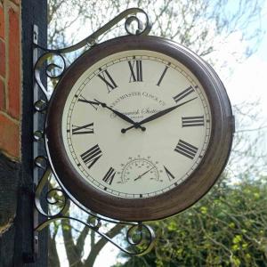 Greenwich Clock & Thermometer