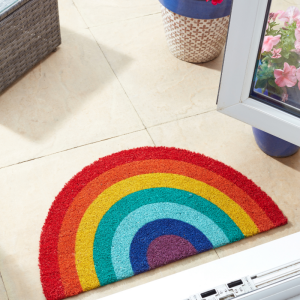 Rainbow Crescent Mat