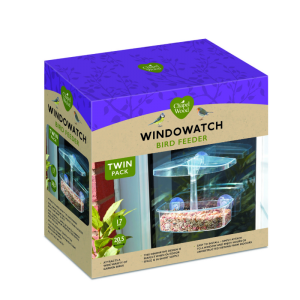 WindoWatch Bird Feeder TWIN PACK