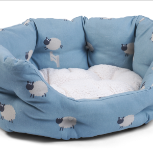 Counting Sheep Oval Bed - Large