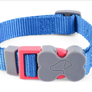 WalkAbout Blue Dog Collar - Small