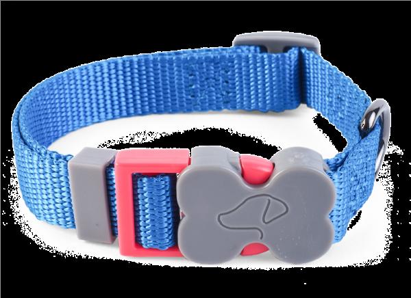 WalkAbout Blue Dog Collar - Medium