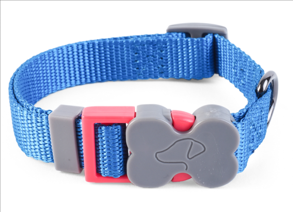WalkAbout Blue Dog Collar - Large
