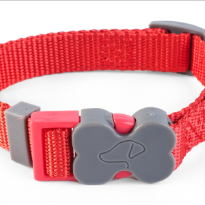 WalkAbout Red Dog Collar - Small