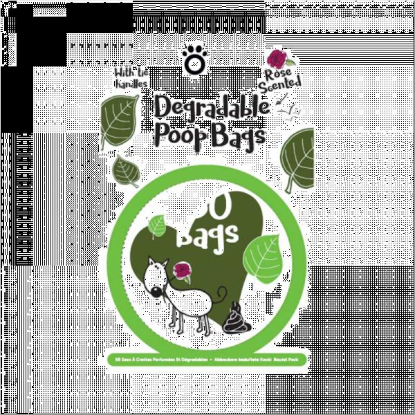 Degradable Scent Poop Bags - 50