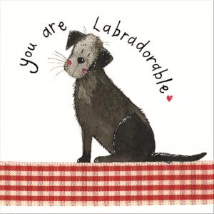 Labradorable Card