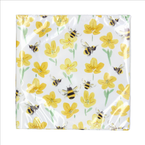 Buttercup & Bee Napkins