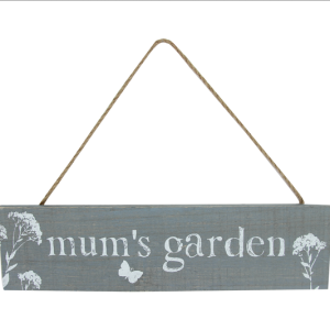 Mums Garden Plaque