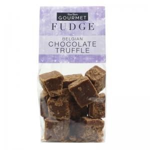 Belgian Chocolate Truffle Fudge