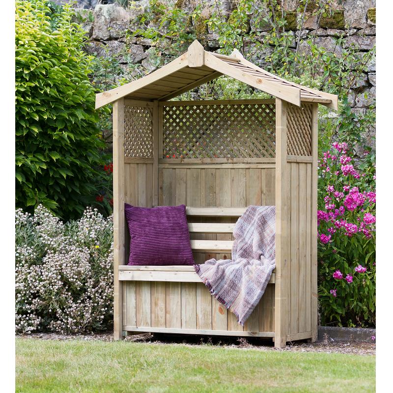 Dorset Arbour With Storage Box