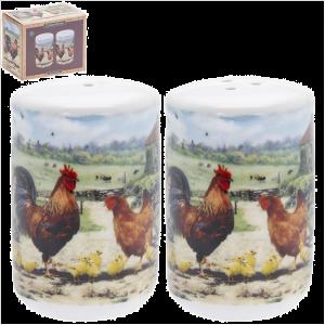 Cockerel & Hen Salt & Pepper