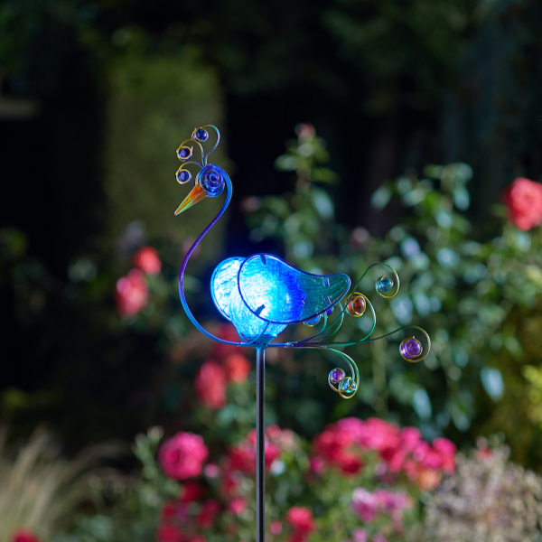 Peacock LED Stake Light